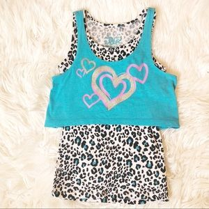 Girls' Justice tank top, size 7